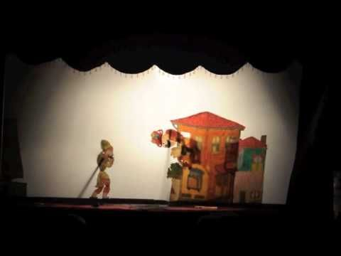 Karagöz Hacıvat - traditional Turkish shadow puppet play. (Video is in Turkish, I think, but the audience of children's enjoyment and laughter is understood in any language.)