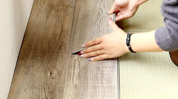 和室を洋室に!賃貸の畳部屋をDIYでフローリングにする方法♪ ページ2 ... はめて置く。サイズを測って切る。必要なのはこの2つの作業だけなので、難しいことはなく誰でも簡単に畳からフローリングへのDIYができちゃいます!
