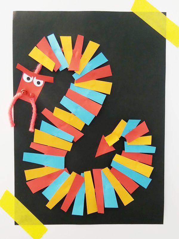 Pour célébrer le nouvel an chinois avec les enfants, tout en s'amusant avec les formes et les couleurs, on fabrique ce très joli tableau du dragon chinois ! Coloré et très simple à réaliser, ce bricolage est parfait pour découvrir les traditions du nouvel an chinois et les signes du zodiaque chinois.