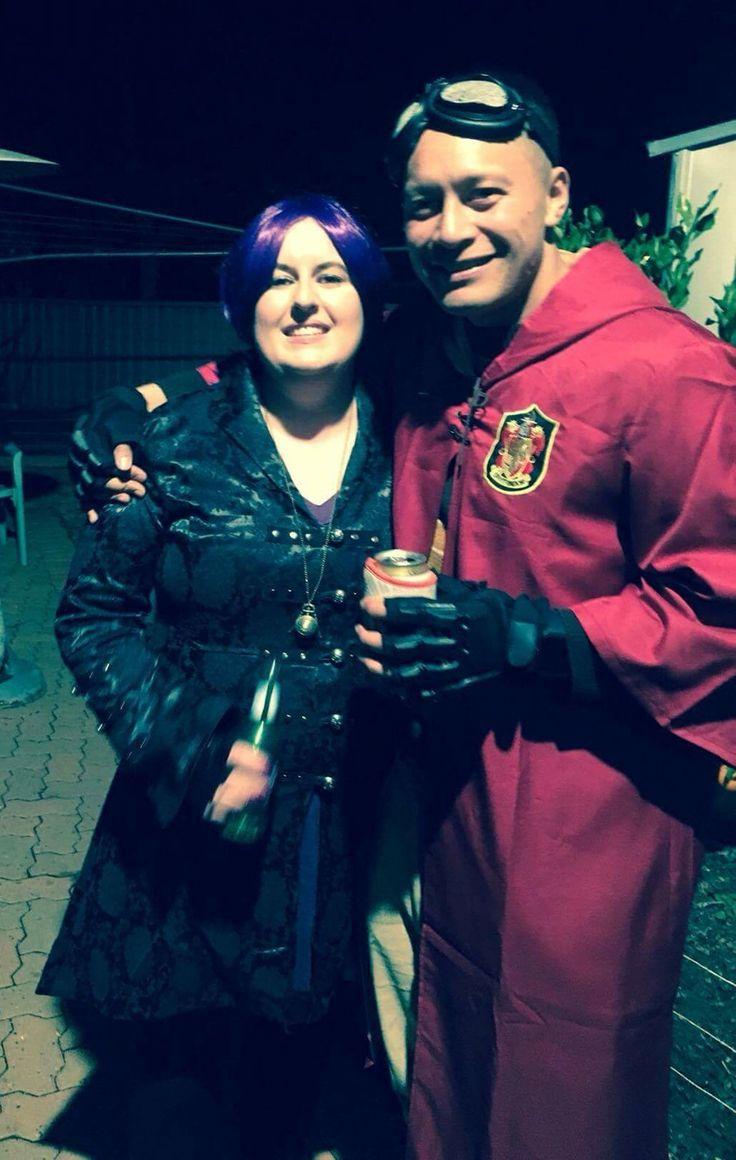 Nymphodora Tonks & Cedric Diggory #harrypotter #harrypotterdecorations #party #nymphodoratonks #cedricdiggory