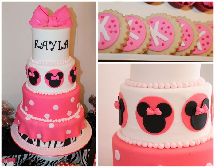Zebra Cake Recipe Joy Of Baking: 17 Best Images About Minnie Mouse 1st Birthday