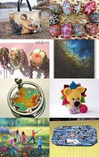 WorldArtDay  15 April by Fatma on Etsy--Pinned with TreasuryPin.com