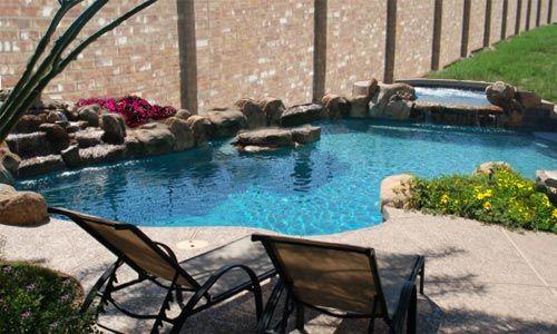 Custom Concrete Swimming Pool idea: Backyard Ideas, Small Pools, Pools Landscape, House Ideas, Custom Concrete Swim Pools, Custom Concrete Swimming Pools, Dreams Pools, Pools Ideas Repin, Pools Design