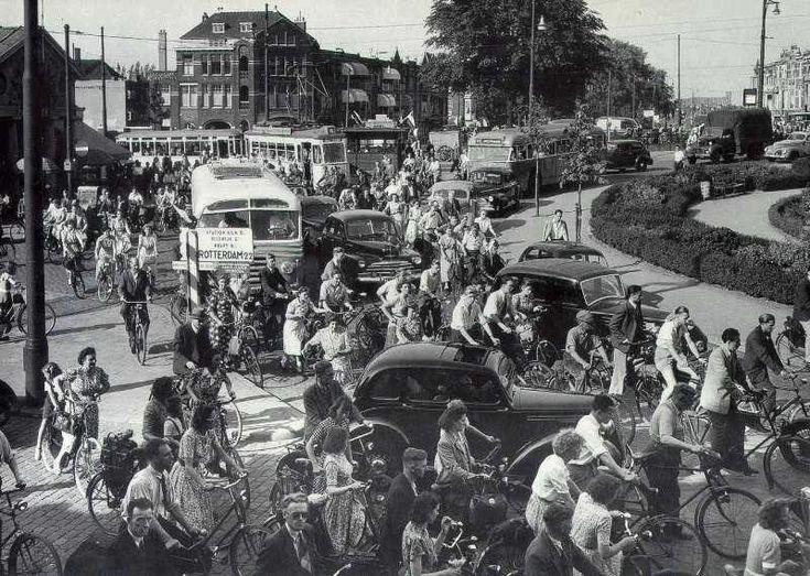 Rijswijkseplein Den Haag (jaartal: 1950 tot 1960) - Foto's SERC