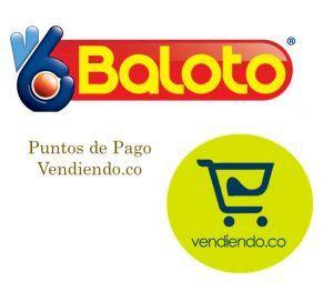 Puntos Baloto en Colombia para pagos del Servicio POS online de Vendiendo.co