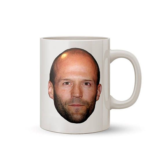 Jason Statham Face Mug Coffee/Tea Mug  Perfect Gift for