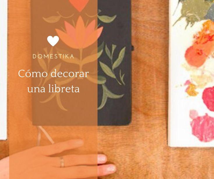 Convierte una aburrida libreta en una explosión floral en unos sencillos pasos #diy #craft #affiliate #tutorial Notebook, Diy, Floral, Crafts, Ideas, Home, Craft Tutorials, Creativity, Paintings