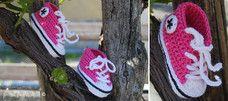 #crochet #babyconverse #handmade #AtelierFaggi #aproposde #lemondedeNicole