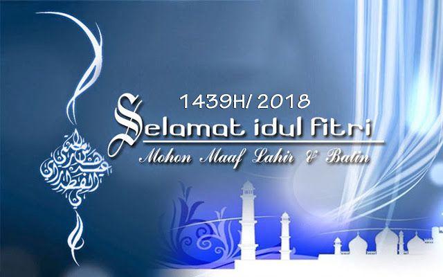 Ucapan Selamat Hari Raya Idul Fitri Tahun 2018 | Kartu