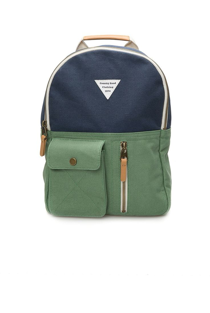 Country road kids utility bag