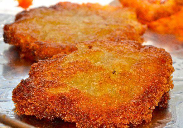 Recette de galette de manioc de la Réunion  Gastronomie 974 Île de ...