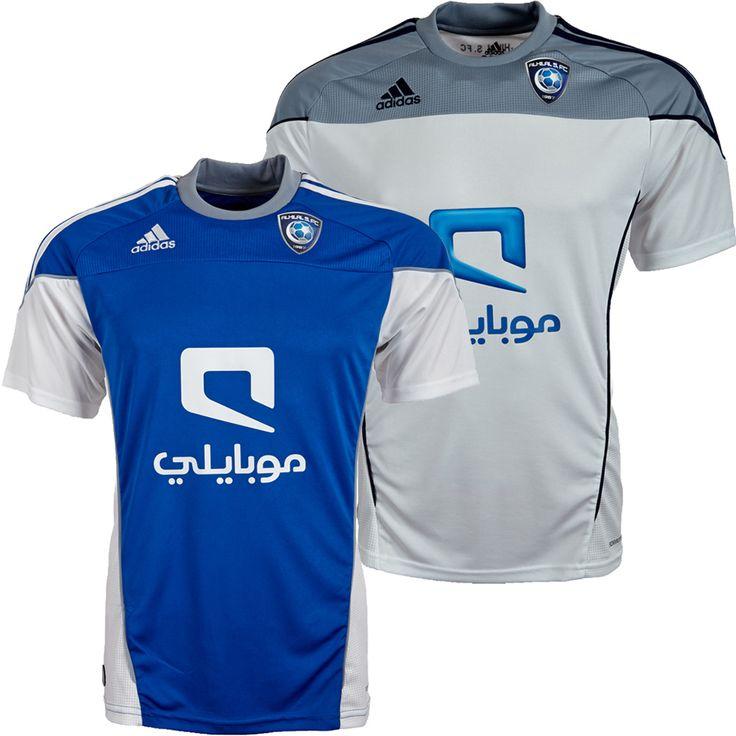 Al Hilal Club - home & away jerseys (2010/11)