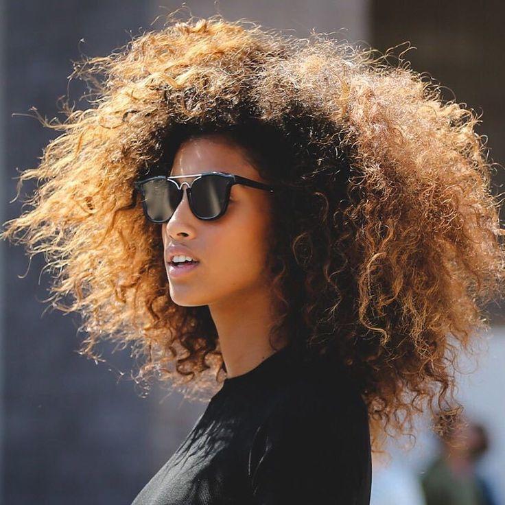 ♚ #Natural hair #black hair #curly #hair #cachos #cacheado #cheveux #Coiffure #boucles #crespo #rizo #long #longo #curls