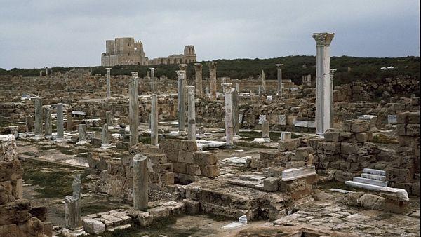Antické památky v libyjském městě Sabráta