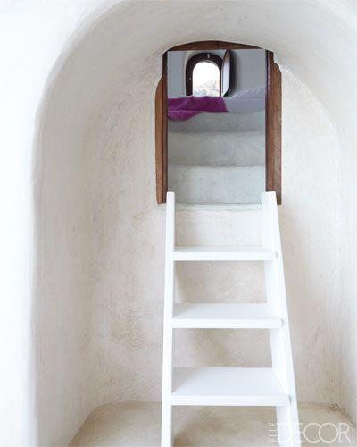 Elle Decor | Costis Psychas home on the Greek island of Santorini