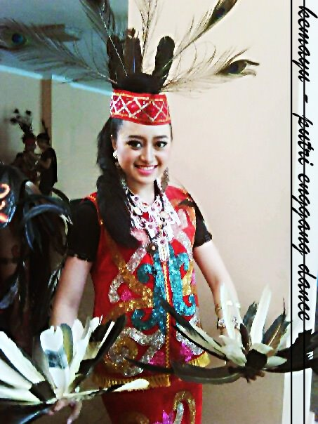 Putri Enggang Dance from Kalimantan