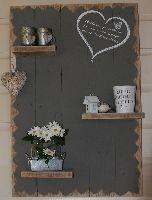 Decoratief wandbord 'Hart'