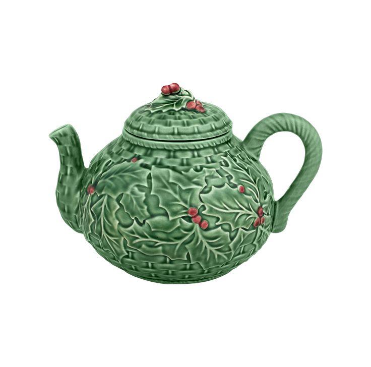 HOLLY tea pot
