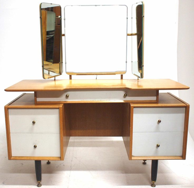 Vintage G Plan E Gomme Dressing Table Retro Bedroom