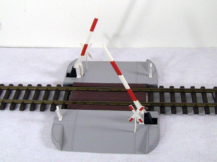 LGB LEHMANN GROSS BAHN # 5065 SCHRANKE RAILROAD OPERATING CROSSING GATE #LGB