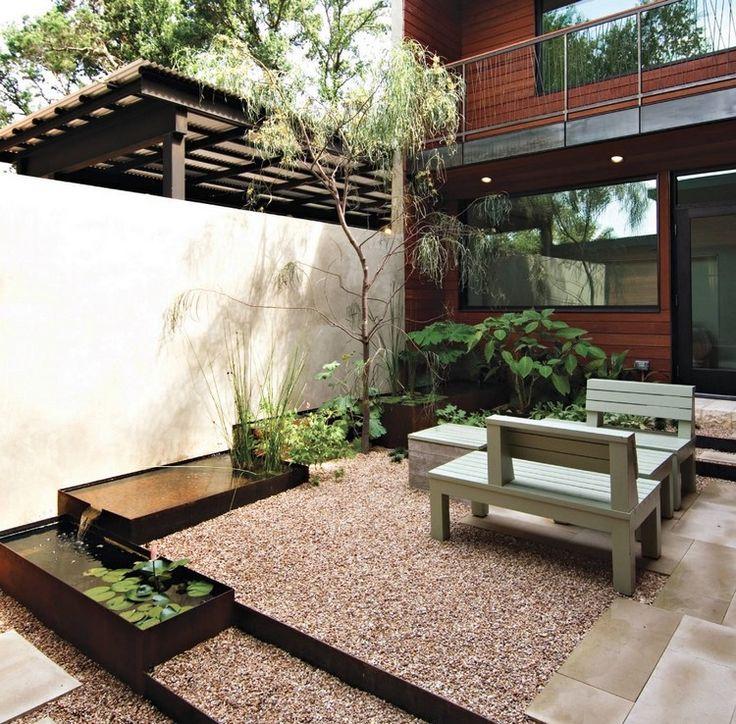 Die besten 25+ Kiesboden Ideen auf Pinterest Kieselfliesen - moderner vorgarten mit kies