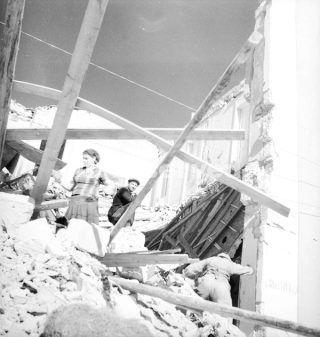 Foggia Italia Settembre 1943_foggia bombardamento