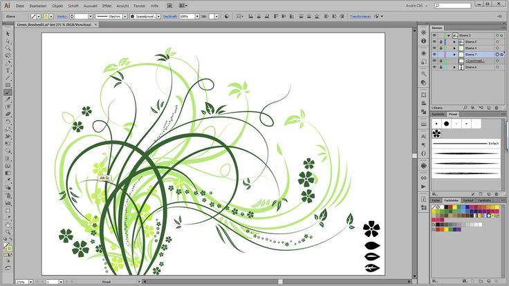 Adobe Illustrator Tutorial - Swirls Flourishes
