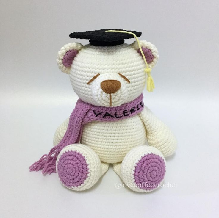 46 best Crochet Teddy Bear images on Pinterest | Café, Osos de ...