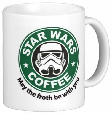 Amazon.com: Star Wars May the Froth Be With You Starbucks Coffee Mug 11 oz: Everything Else