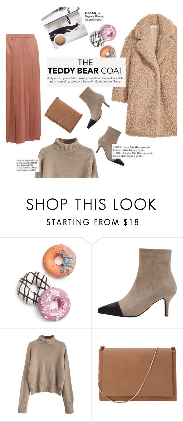 """""""the teddy bar coat"""" by punnky ❤ liked on Polyvore featuring Celebrate Shop, MaxMara, Rochas and Haute Hippie"""