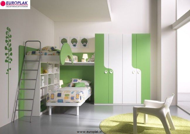 When designing a kid's bedroom, think about nothing but color, color and more color. Always include a favorite tint on the walls but stick with unbiased furniture that doesn't need to be swapped out as interests change. You should always add full-sized dressers and cabinets that can hold on until the school years. There should be a great place for storage of clothes and toys. You can even add shelves if you are good at our budget.  For more details Visit : http://www.europlak.in/