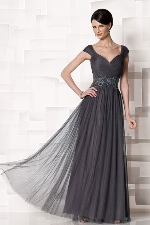 @Sherie Tripp What do you think about this dress? It would be flattering color and it has those shoulder straps I was talking about..