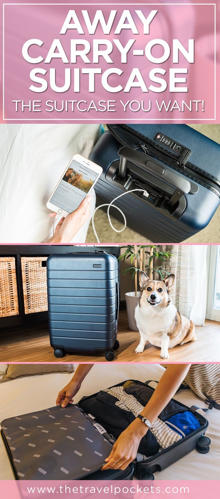 Away Carry-on Suitcase - this is the suitcase you want!