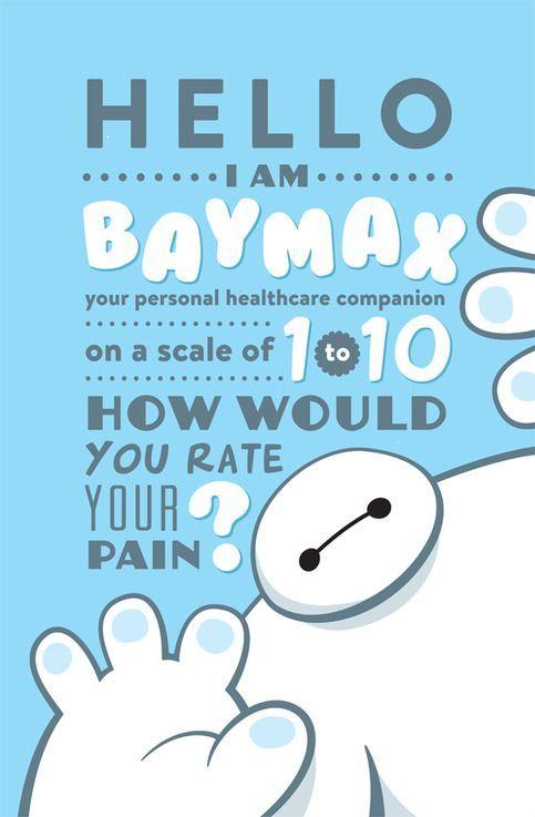 hola soy baymax tu asistente medico personal del 1 al 10 como clasificaria su dolor