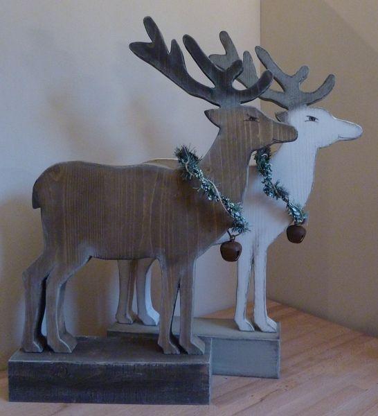 Best.-Art. - Rentier  (50cm hoch) von Woodlouse auf DaWanda.com