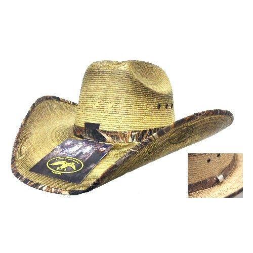 Duck Dynasty Duck Commander By Resistol Junior Mallard Palm Straw Cowboy Hat