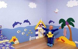 Beauty  Ideas For a Sea Themed Girl and Boys Room
