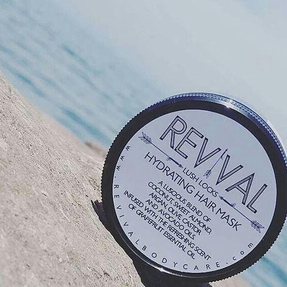 Revival- Lush Locks Hydrating Hair Mask
