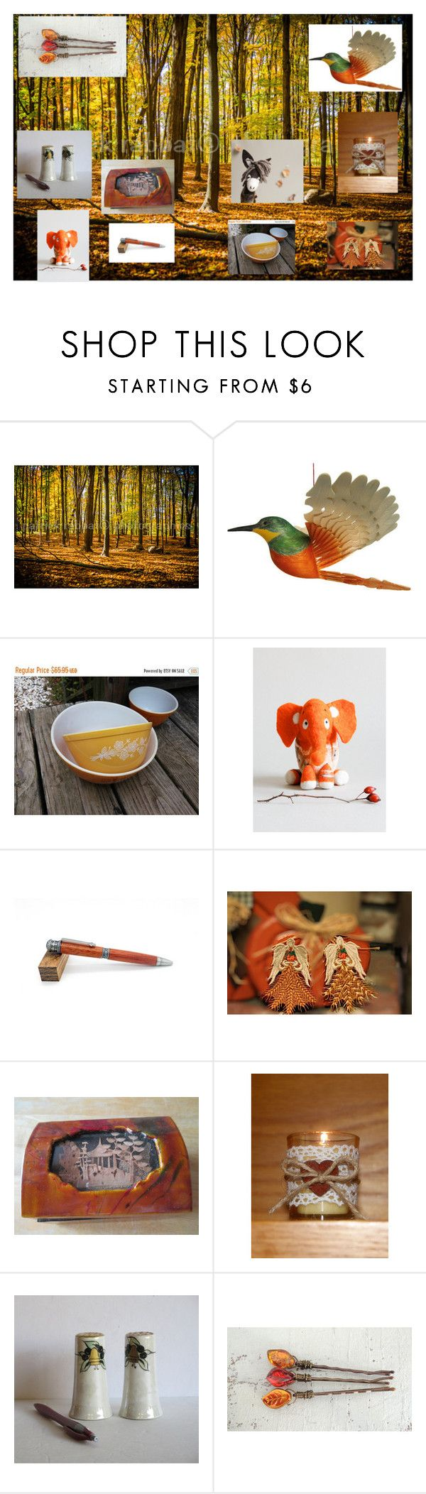 """""""Happy Thanksgiving, Canada"""" by rocky-springs-vintage ❤ liked on Polyvore featuring interior, interiors, interior design, home, home decor, interior decorating and Pyrex"""