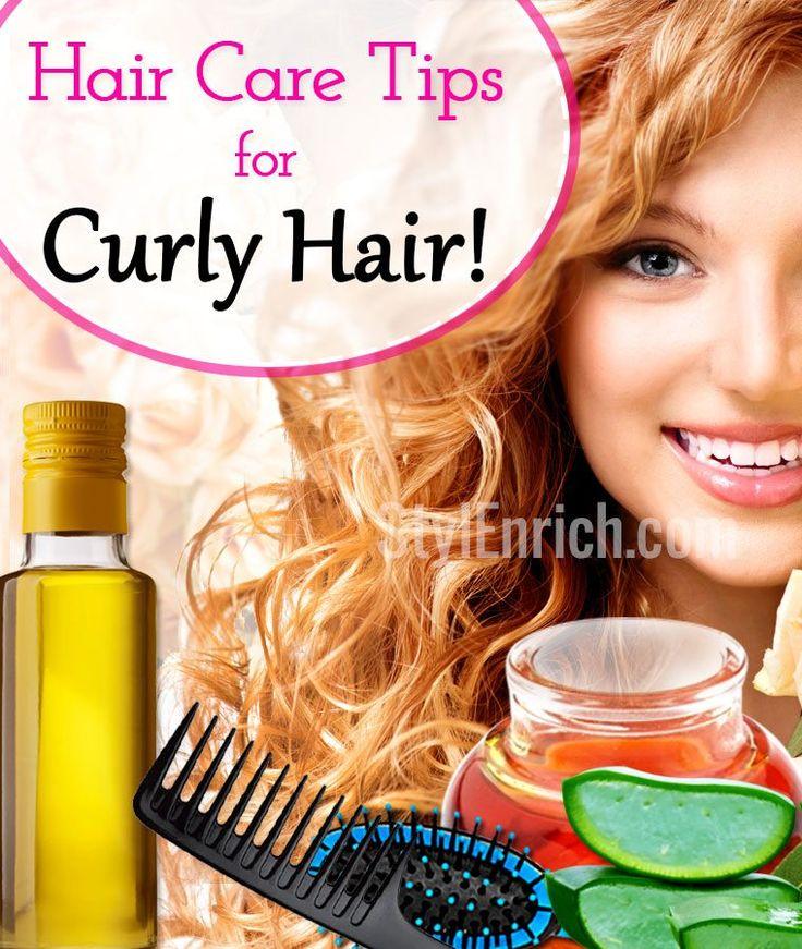 Hair Care Ideas for Curly Hair