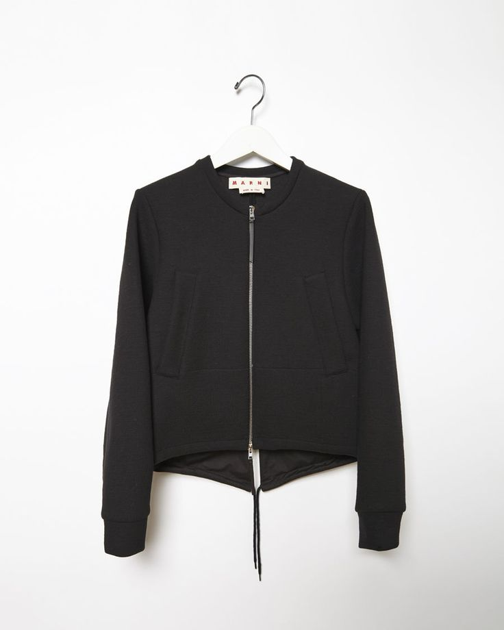 MARNI | Tech Crepe Bomber Jacket | Shop at La Garçonne