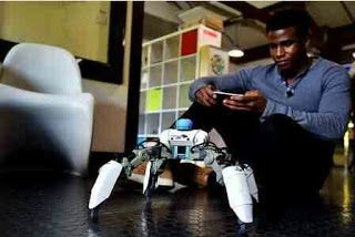 See The World's First Gaming Robots Invented By A Nigerian   This is Silas Adekunle who is the founder and CEO of Reach Robotics a company that has invented the worlds first gaming robots  Silas born in Nigeria moved to the UK with his family at the age of 11Silas studied Robotics at the University of West England Bristol where he graduated with a first class degree.  During his studies at UWE Bristol he came up with the idea for Reach Robotics.Silas during his teaching stint at local…