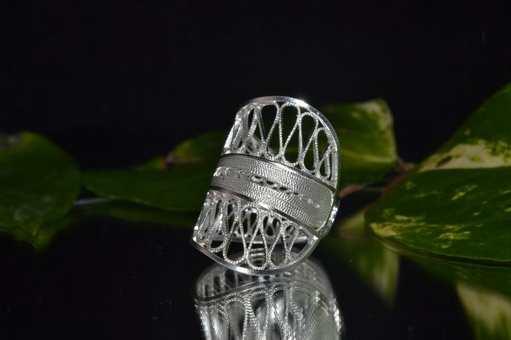 Sterling Silver Ring  www.silverleafjewelryco.com