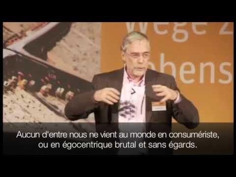 Conférence du neurobiologiste Prof. Dr. Gerald Hüther dans le cadre de la zweite Konferenz des Denkwerks Zukunft (conférence sur l'avenir), Berlin, 15 janvier 2011.