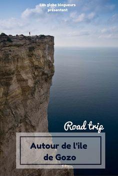 Notre road trip étape par étape sur les côtes de l'Ile de Gozo, Malte. Nos coups de coeurs pour ses criques, ses falaises ...