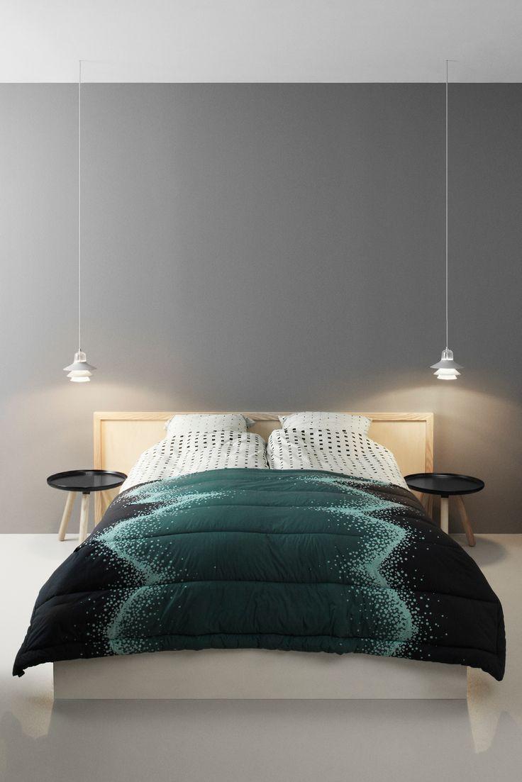 Normann - Sprinkle Sengeteppe.  Sengeteppet er deilig og bløtt. Bruk det som sengeteppe, som plaid i sofaen, som vatteppe i hagen, på skogtur eller som leketeppe til barna - mulighetene er mange!