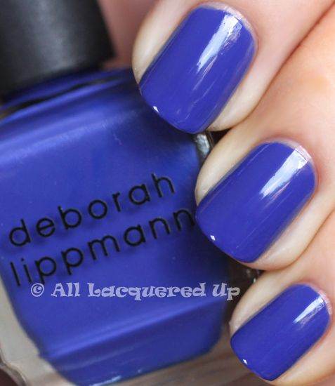 "Lippman ""I Know What Boys Like.""  Gorgeous shade of blue; I wish some more affordable line had one like it! #nailpolish"