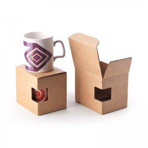 Caja para taza con ventana