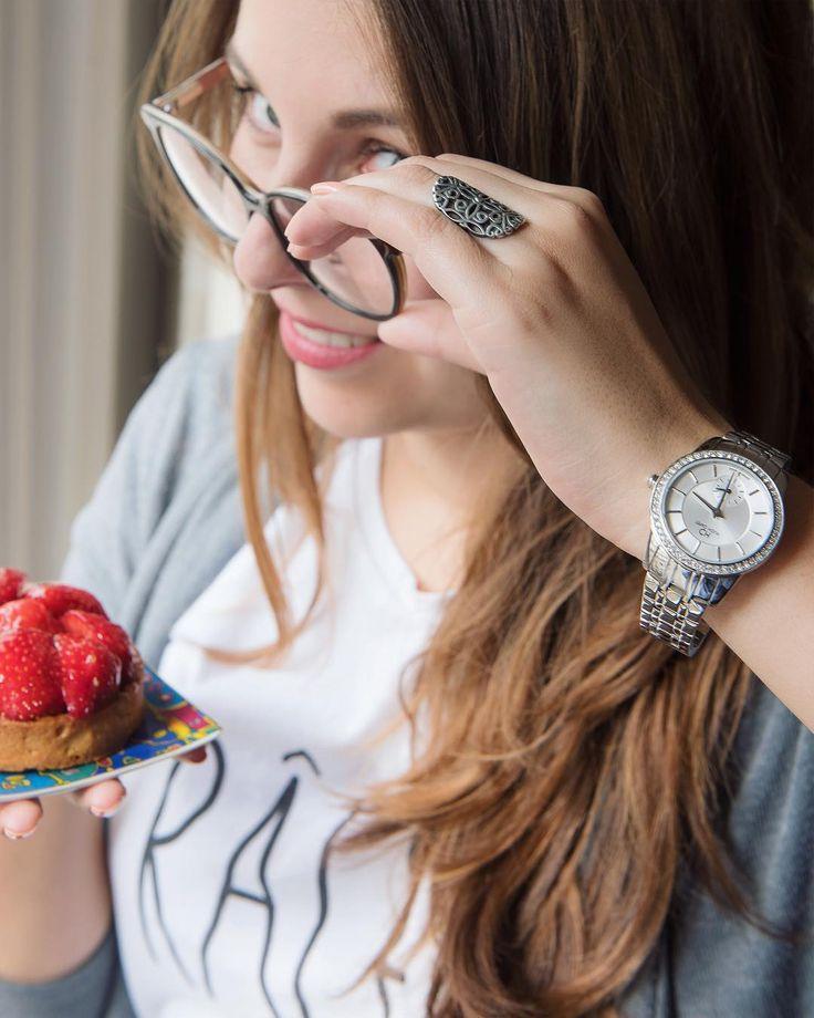 As delicious looking as French pastries our Glamour model PL40174.02 #HughCapet #SwissMade  Aussi délicieuse à regarder qu'une pâtisserie française notre modèle Glamour PL40174.02 #HughCapet #SwissMade photographié par @patrickcolpron