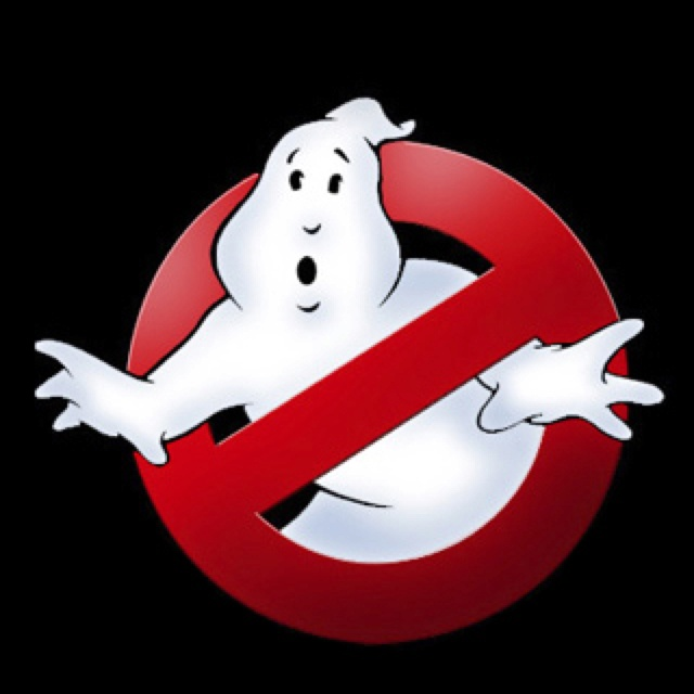 Ghostbusters logo for fambam costume! We ain't afraid of no ghosts!!